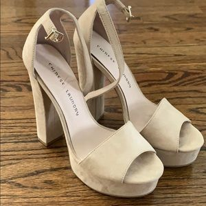 Suede Platform Shoes from Chinese Laundry